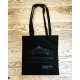 Dedicated Black Cotton Bag
