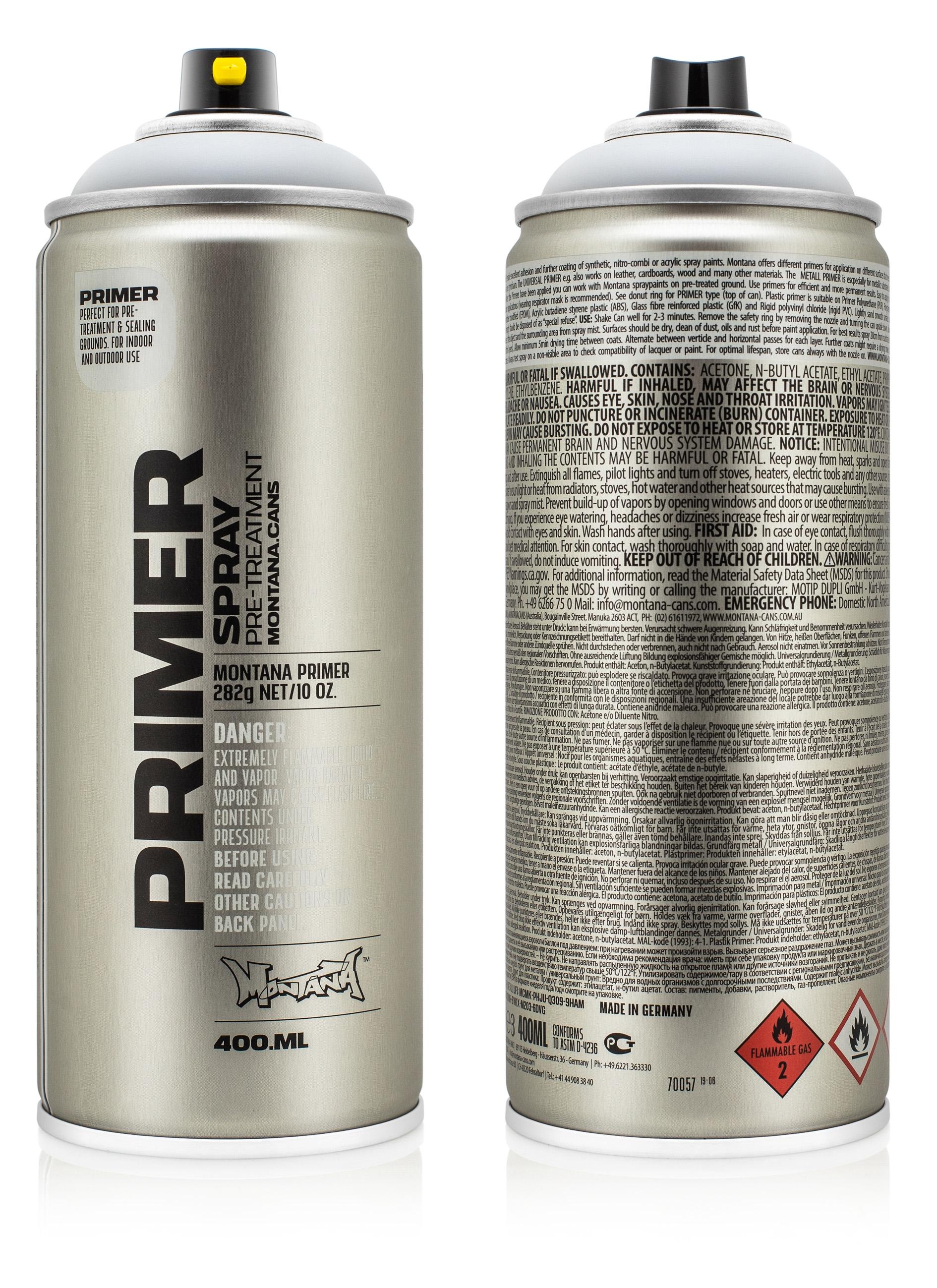 Montana Primer 400ml - Aluminium