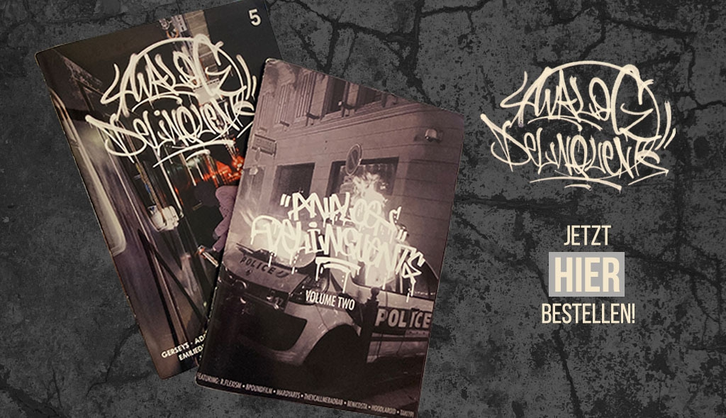 Analog Delinquents Magazine jetzt bei dedicated syndicate kaufen!