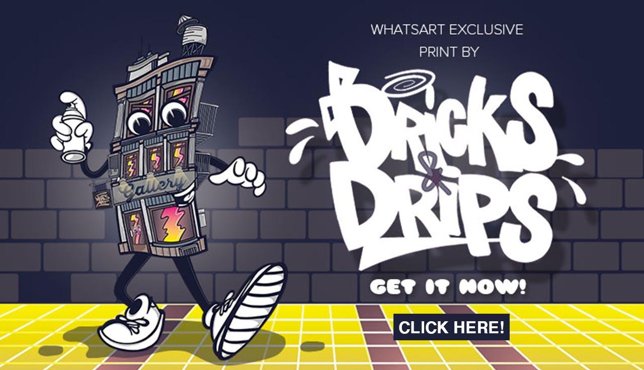 Bricks&Drips Gallery Print bei dedicated syndicate kaufen!
