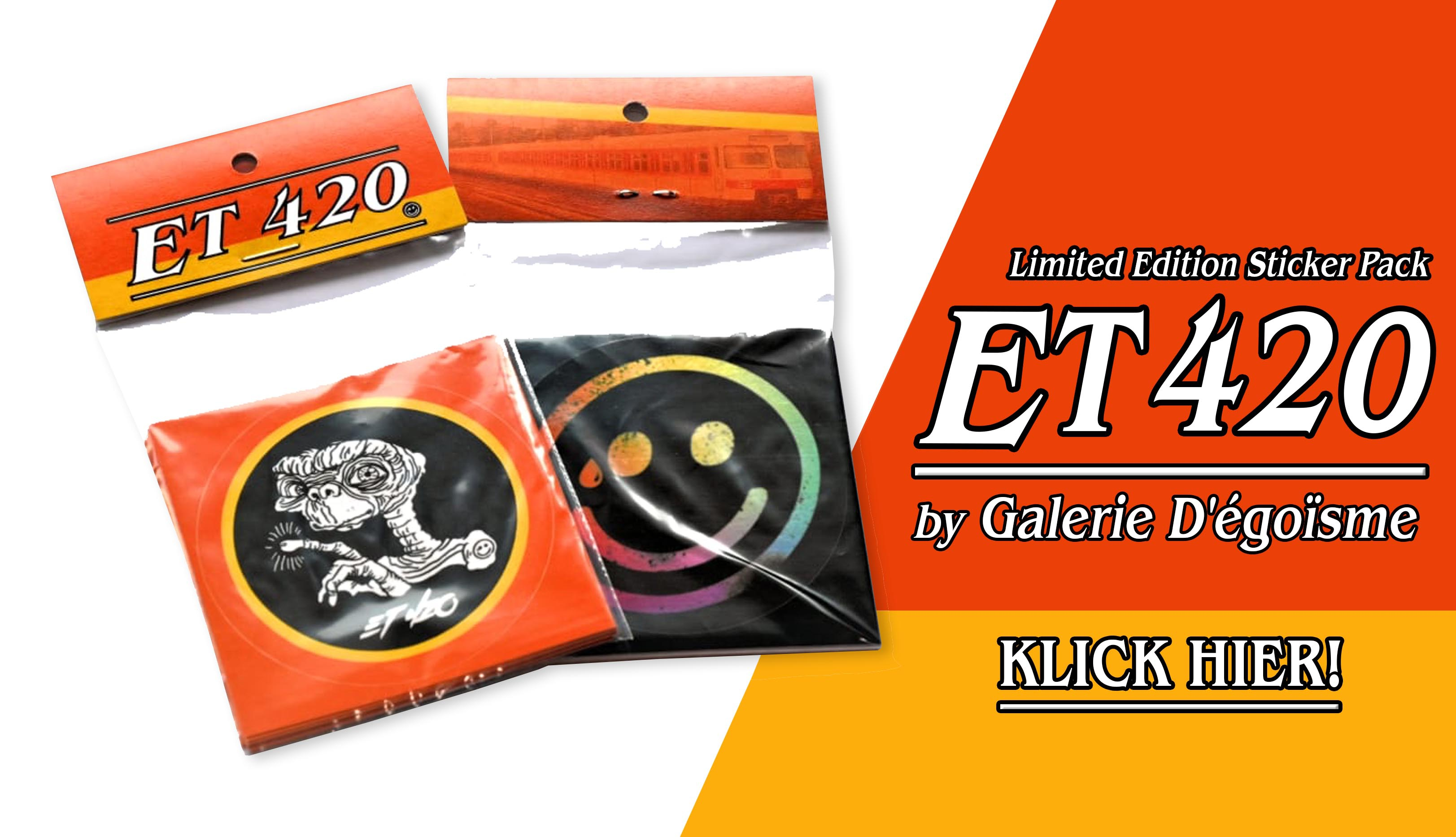 Galerie Degoisme E.T. 420 Limited Sticker Set bei dedicated online kaufen!