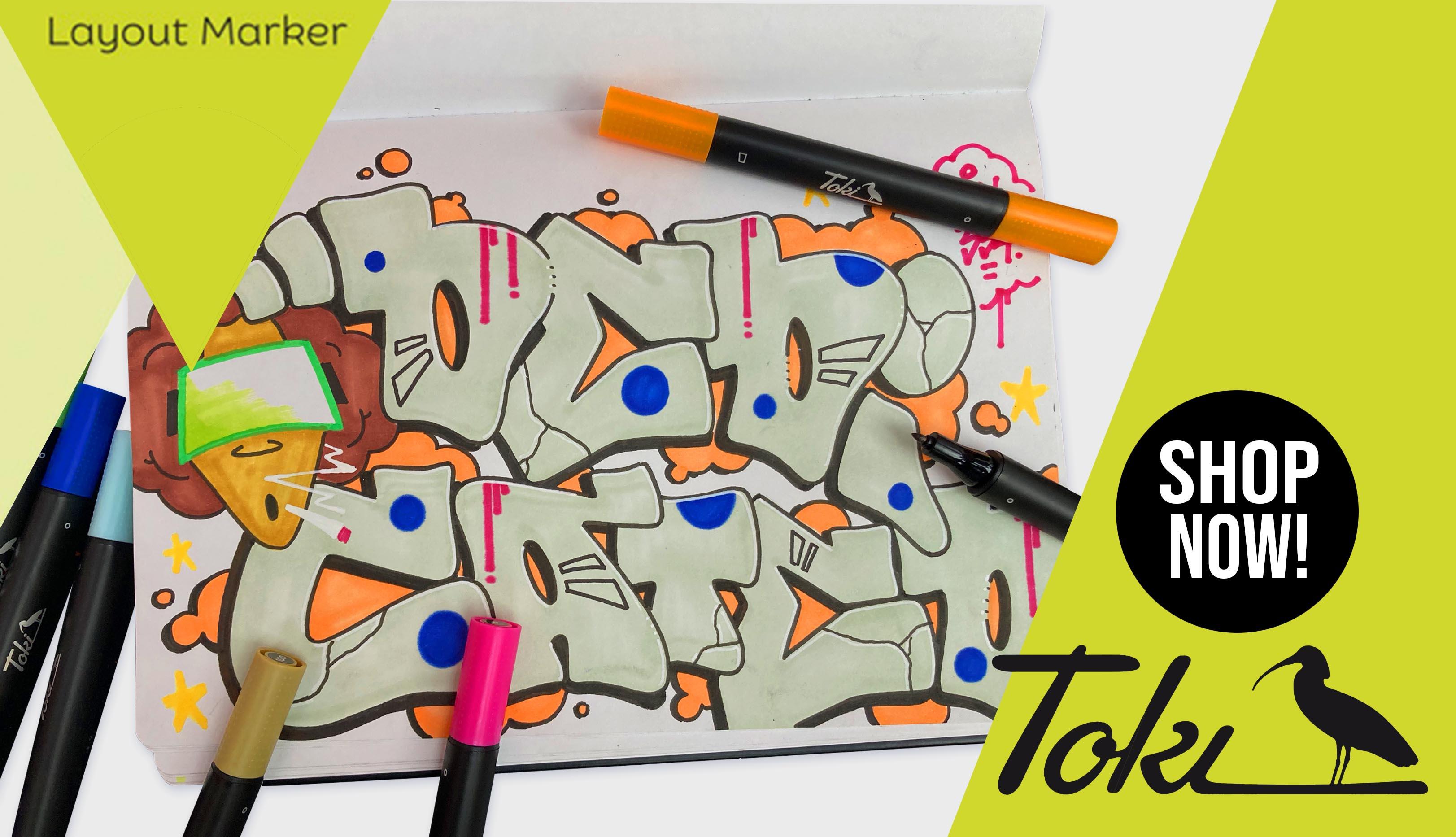 Toki Marker jetzt bei dedicated syndicate preordern!