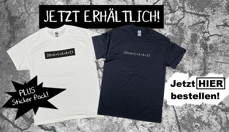 20ACAB21 T-Shirt jetzt bei Dedicated kaufen!